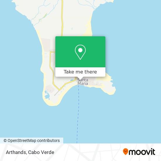 Arthands mapa
