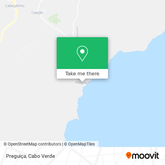 Preguiça mapa