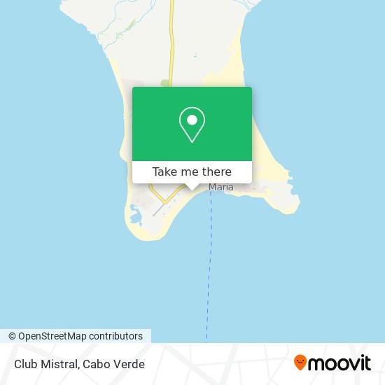 Club Mistral mapa