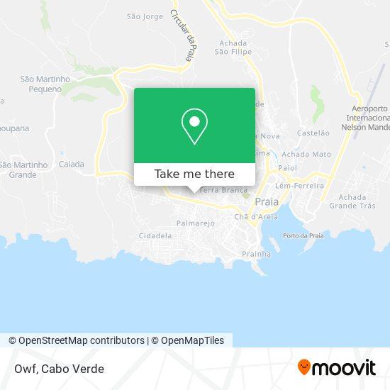 Owf mapa