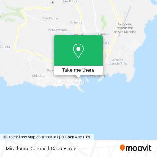 Miradouro Do Brasil mapa