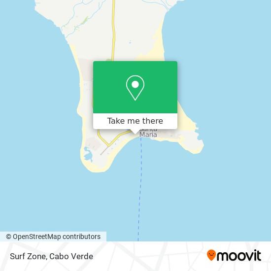 Surf Zone mapa