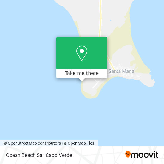 Ocean Beach Sal mapa
