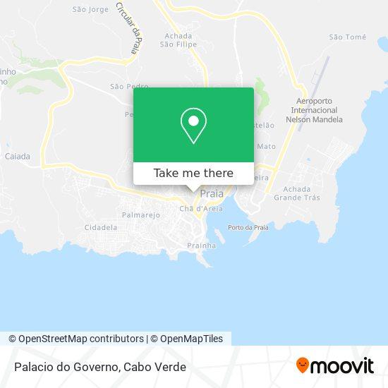 Palacio do Governo mapa