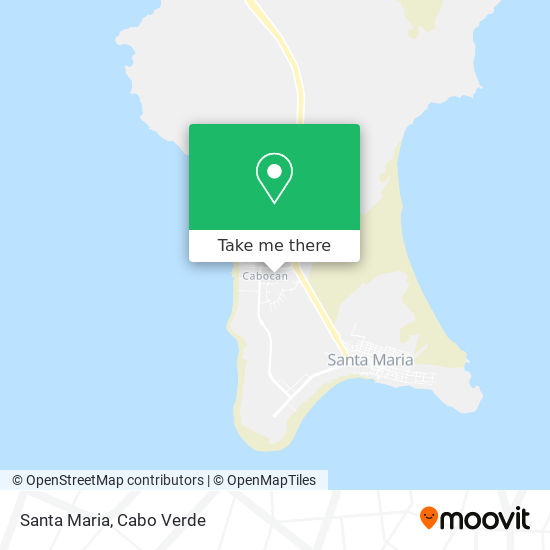 Santa Maria mapa