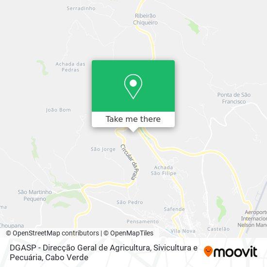 DGASP - Direcção Geral de Agricultura, Sivicultura e Pecuária mapa