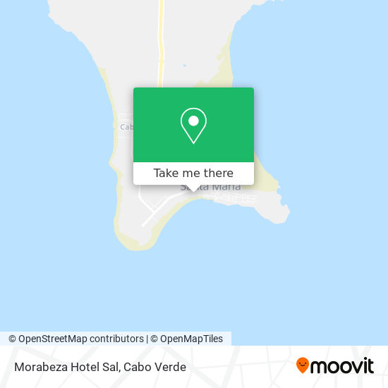 Morabeza Hotel Sal mapa