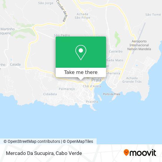 Mercado Da Sucupira mapa