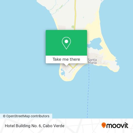 Hotel Building No. 6 mapa