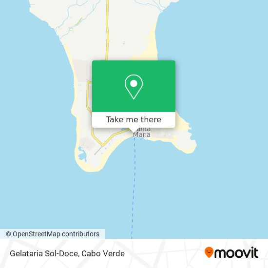 Gelataria Sol-Doce mapa