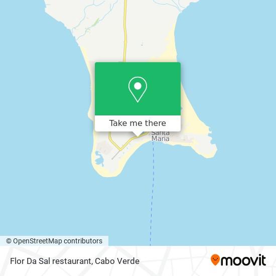 Flor Da Sal restaurant mapa