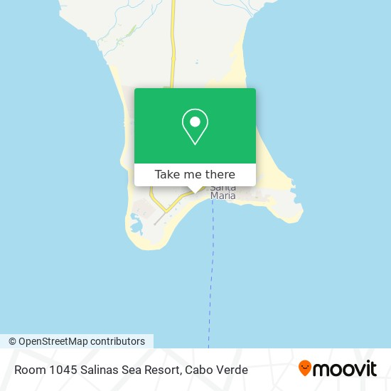 Room 1045 Salinas Sea Resort mapa