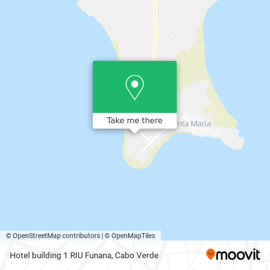 Hotel building 1 RIU Funana mapa