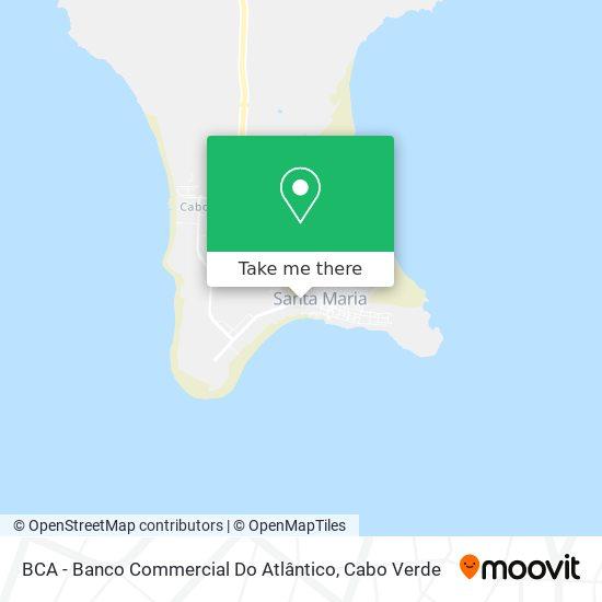 BCA - Banco Commercial Do Atlântico mapa