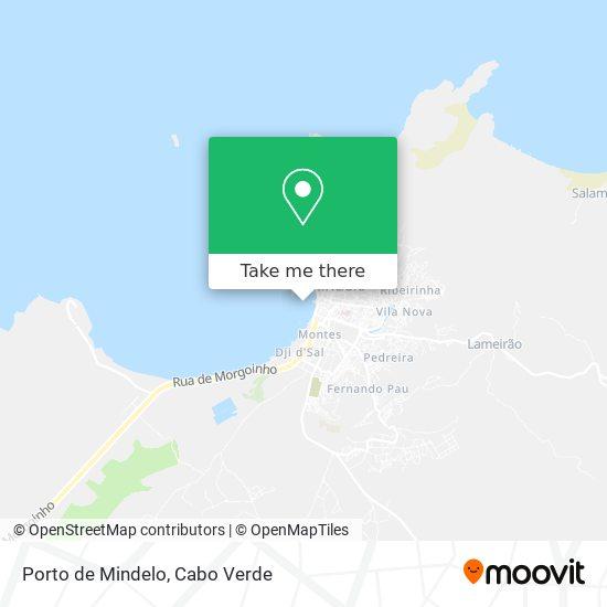 Porto de Mindelo mapa