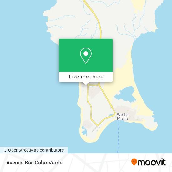 Avenue Bar mapa