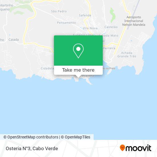Osteria N°3 mapa