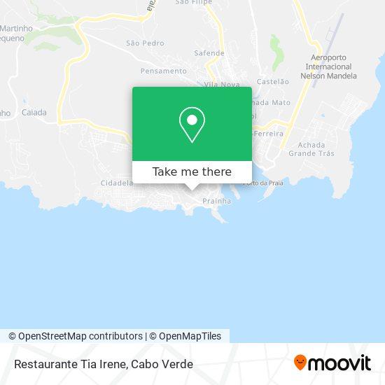 Restaurante Tia Irene mapa