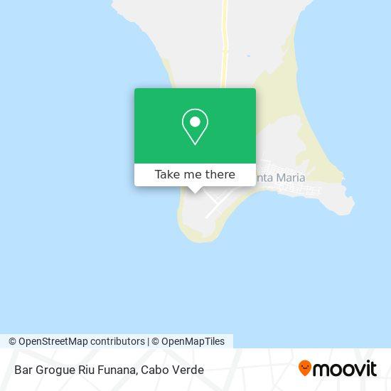 Bar Grogue Riu Funana mapa