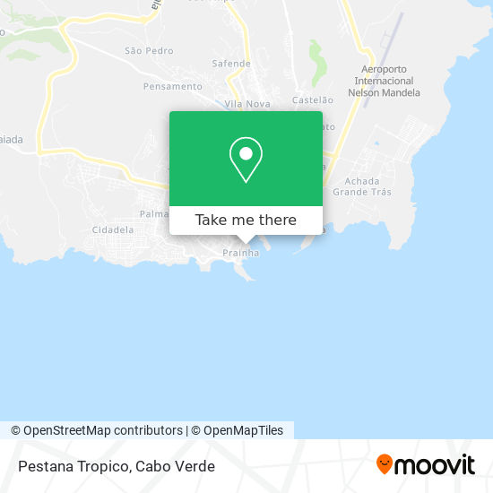Pestana Tropico mapa