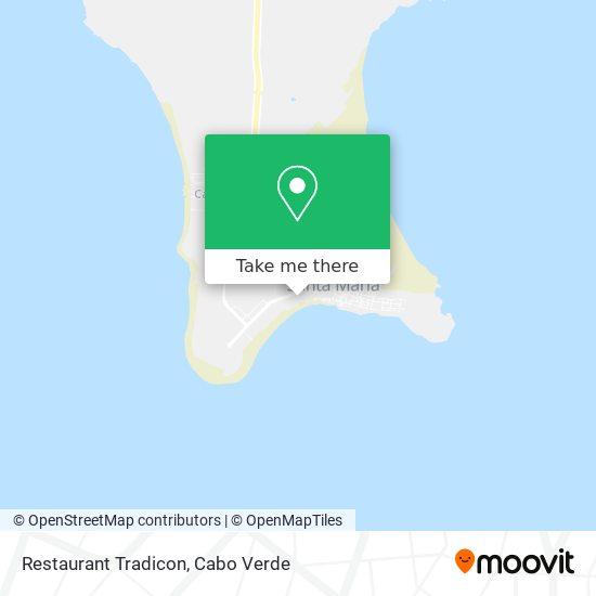 Restaurant Tradicon mapa