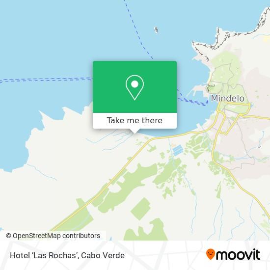 Hotel 'Las Rochas' mapa