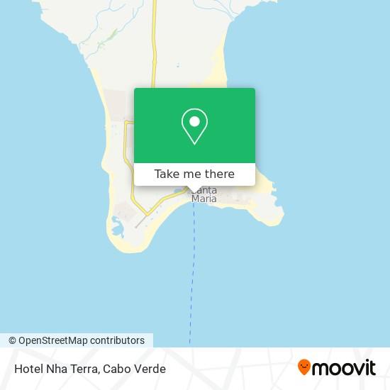 Hotel Nha Terra mapa