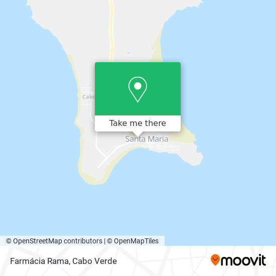 Farmácia Rama mapa