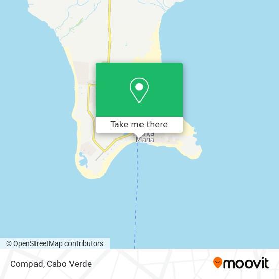 Compad mapa