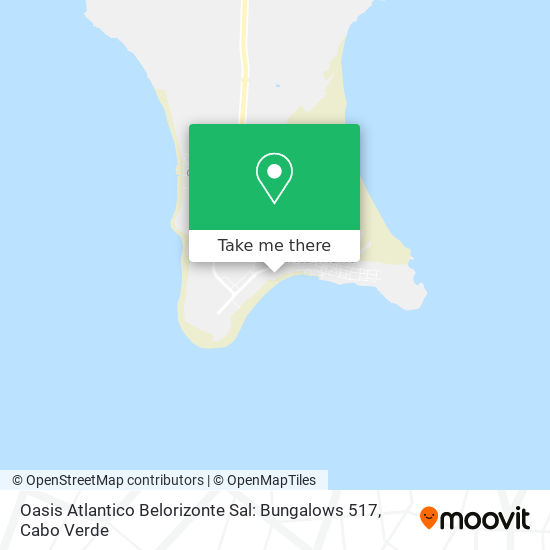 Oasis Atlantico Belorizonte Sal: Bungalows 517 mapa