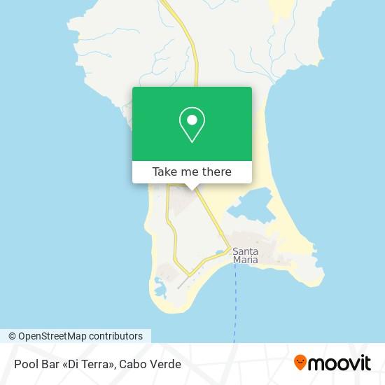 Pool Bar «Di Terra» mapa