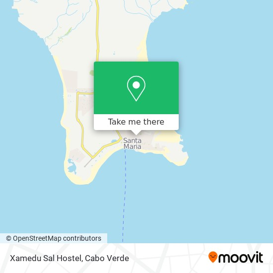 Xamedu Sal Hostel mapa