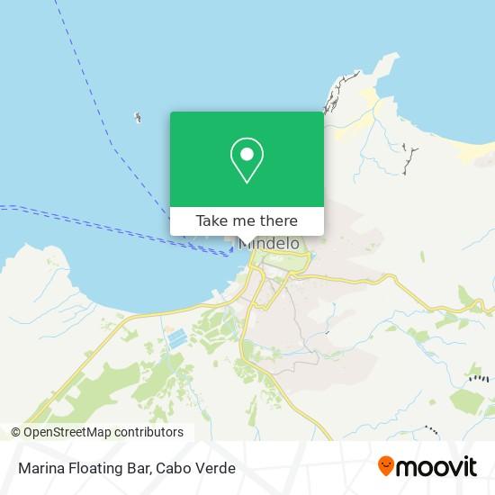 Marina   Floating Bar mapa