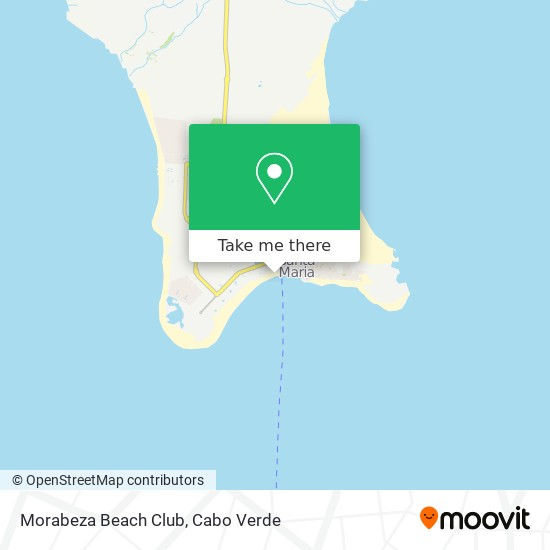 Morabeza Beach Club mapa