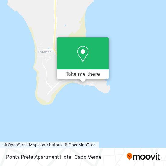 Ponta Preta Apartment Hotel mapa