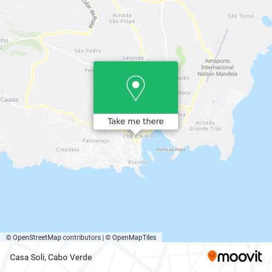 Casa Soli mapa