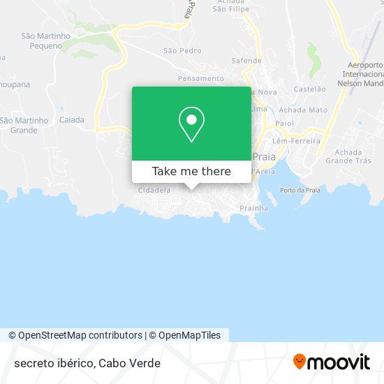 secreto ibérico mapa