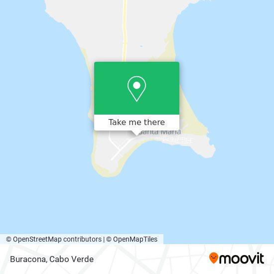 Buracona mapa