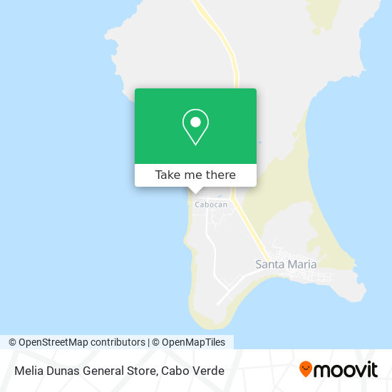 Melia Dunas General Store mapa