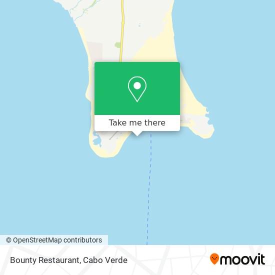 Bounty Restaurant mapa