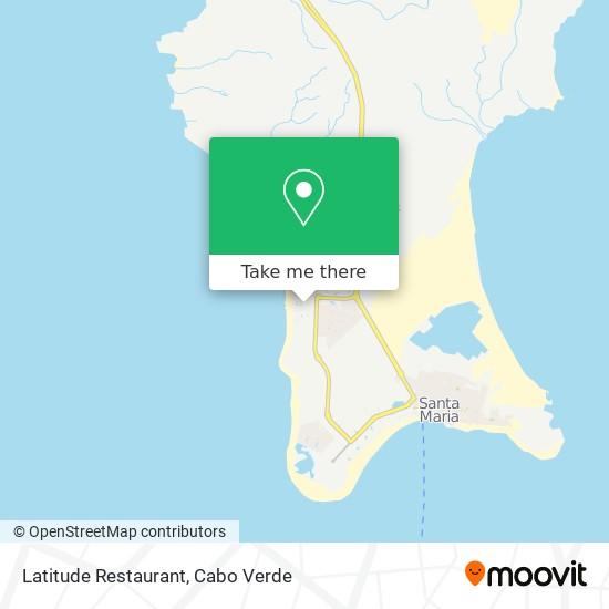 Latitude Restaurant mapa