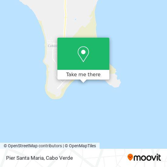 Pier Santa Maria mapa