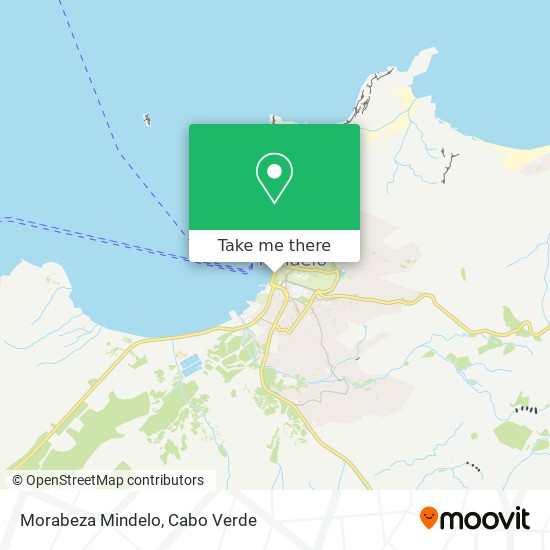 Morabeza Mindelo mapa
