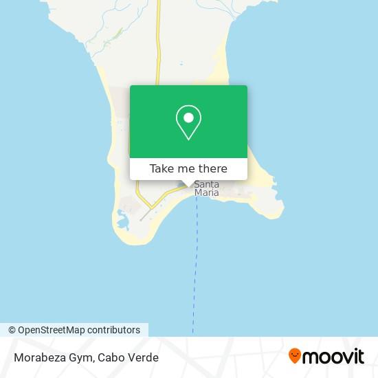 Morabeza Gym mapa