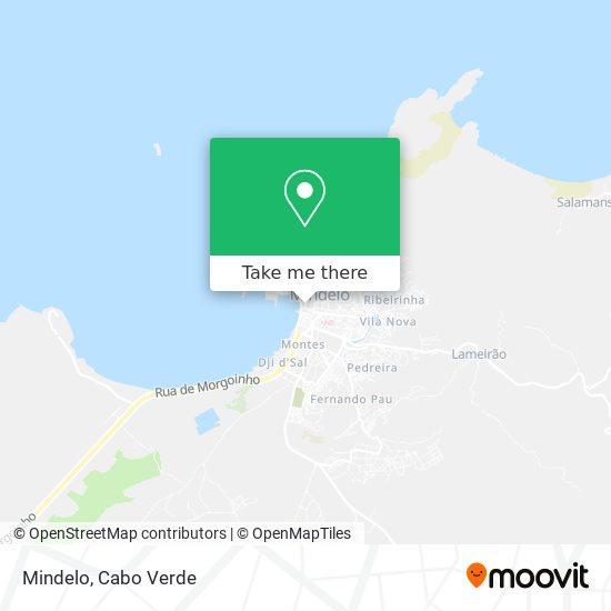 Mindelo mapa