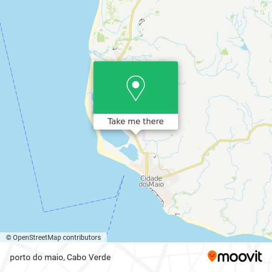porto do maio mapa