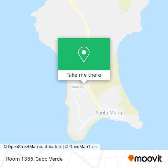 Room 1355 mapa