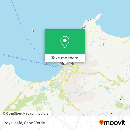 royal cafe mapa