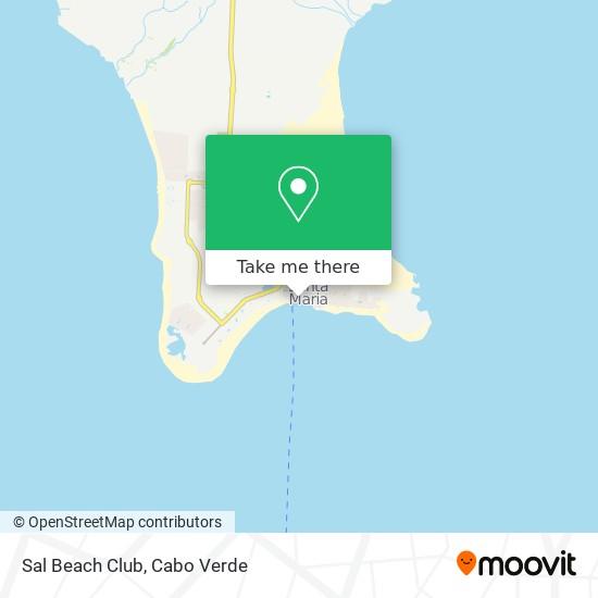 Sal Beach Club mapa