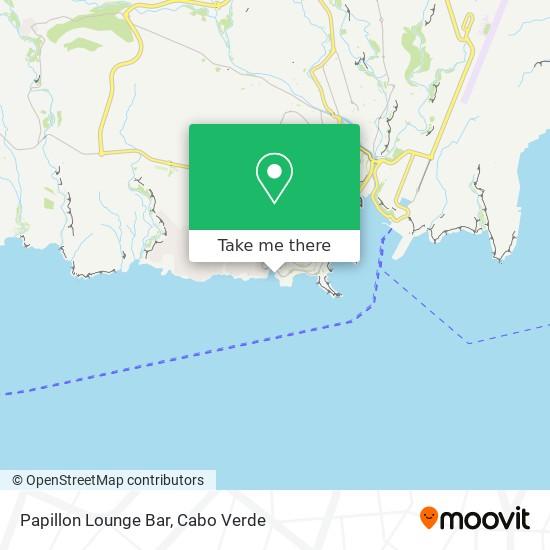 Papillon Lounge Bar mapa
